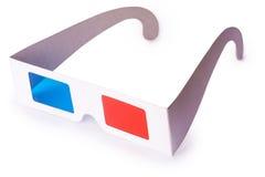 vetri 3D isolati su priorità bassa bianca Immagine Stock