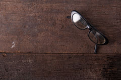 Vetri degli occhiali Immagine Stock
