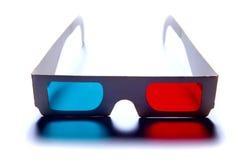 vetri del anagluph 3d Fotografia Stock Libera da Diritti