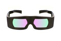 Vetri del cinema 3D di Dolby Immagini Stock