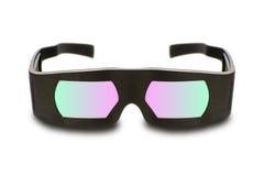 Vetri del cinema 3D di Dolby Fotografia Stock