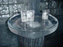 Vetri del ghiaccio Immagini Stock