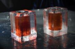 Vetri del ghiaccio Fotografia Stock