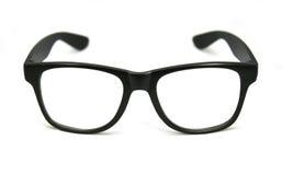 Vetri dell'occhio nero isolati su bianco Fotografia Stock Libera da Diritti