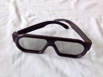 Vetri dell'occhio nero su bianco Fotografia Stock