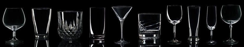 Vetri della bevanda Fotografia Stock