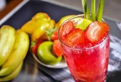 Vetri della frutta fresca Fotografia Stock Libera da Diritti