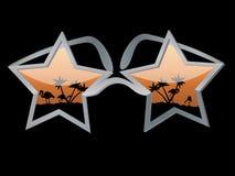 Vetri della stella Fotografia Stock
