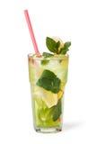 Vetri delle bevande di frutta con i cubetti di ghiaccio Immagine Stock Libera da Diritti