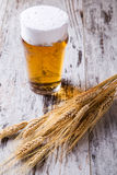 Vetri di birra Immagini Stock Libere da Diritti