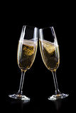 Vetri di Champagne Fotografia Stock Libera da Diritti