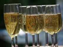 Vetri di Champagne Immagini Stock Libere da Diritti