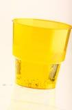 Vetri di plastica Fotografia Stock Libera da Diritti