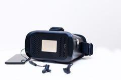 Vetri di realtà virtuale Fotografie Stock Libere da Diritti