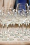 Vetri di vino Immagini Stock Libere da Diritti