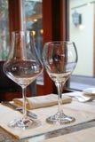 Vetri di vino Fotografia Stock Libera da Diritti