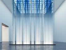 Vetrina d'ardore Installazione di arte rappresentazione 3d Immagini Stock