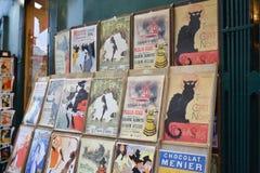Vetrina del negozio di regalo, Parigi Immagine Stock Libera da Diritti