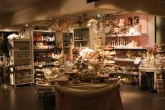 Vetrina di Natale nel grande magazzino Immagine Stock Libera da Diritti