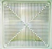 Vetrina di vetro vuota per l'esposizione. illustrazione vettoriale
