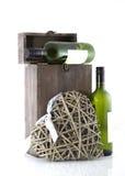 Vetrina di vino Immagini Stock Libere da Diritti