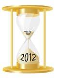 Vetro 2012 di ora Immagini Stock