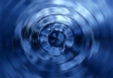 Vetro blu Fotografia Stock Libera da Diritti