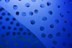 Vetro blu Immagine Stock