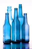 Vetro blu Immagini Stock Libere da Diritti