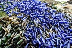 Vetro che ricicla III Fotografie Stock Libere da Diritti