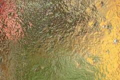 Vetro colorato trasparente Fotografia Stock