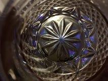 Vetro completamente svuotato Fotografie Stock Libere da Diritti