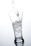 Vetro con acqua Immagine Stock Libera da Diritti