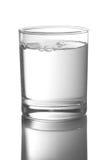 Vetro con acqua fotografia stock libera da diritti