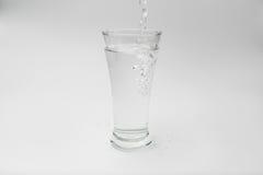 Vetro con acqua Fotografie Stock Libere da Diritti