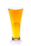 Vetro con birra Immagine Stock