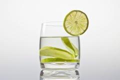 Vetro con limonata Immagini Stock Libere da Diritti