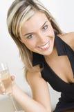 Vetro con vino Fotografia Stock Libera da Diritti