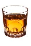 Vetro con whisky Fotografia Stock Libera da Diritti