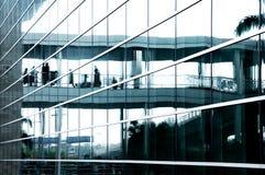 vetro del centro di affari Fotografie Stock Libere da Diritti
