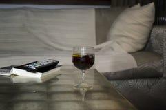 Vetro del cocktail Fotografia Stock Libera da Diritti