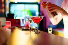 Vetro del cocktail al partito Immagine Stock Libera da Diritti