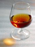 Vetro del cognac Immagini Stock
