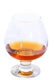 Vetro del cognac o del brandy Fotografia Stock Libera da Diritti