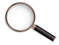 Vetro del Magnifier Fotografia Stock Libera da Diritti
