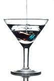 Vetro del Martini Fotografie Stock Libere da Diritti