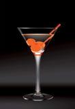 Vetro del Martini Fotografia Stock