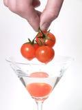 Vetro del pomodoro Fotografia Stock