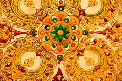Vetro del soffitto al tempio o di Chedie Chaimongkol Immagini Stock Libere da Diritti