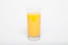 Vetro del succo di arancia Immagine Stock Libera da Diritti